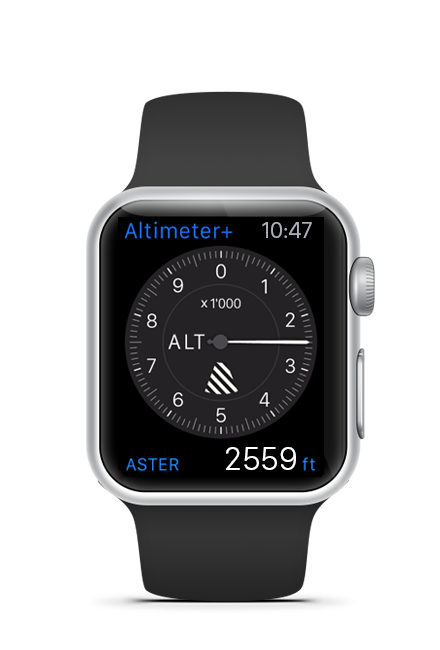 Altimeter+ - The most accurate altimeter app for iOS